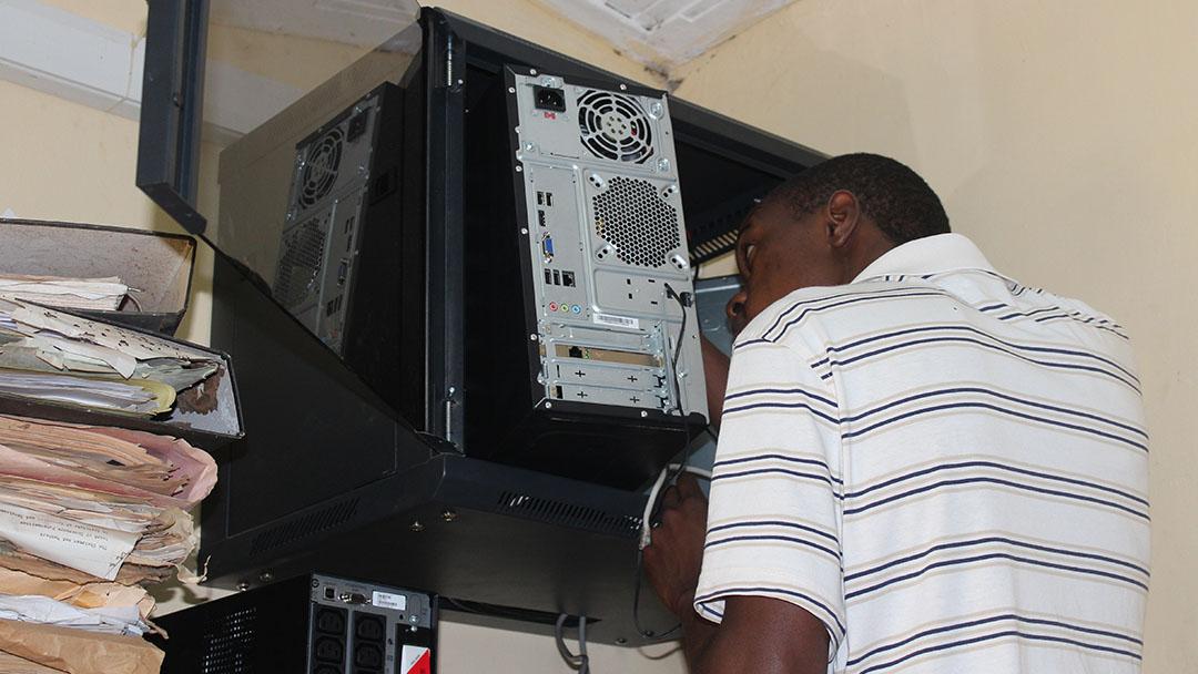 Server installation NTC Kaliro